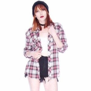 Rails Asher Red and Black Flannel